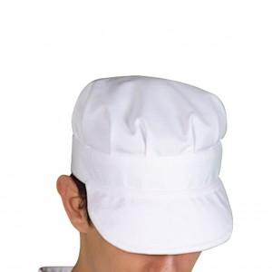Berretto Bianco con visiera