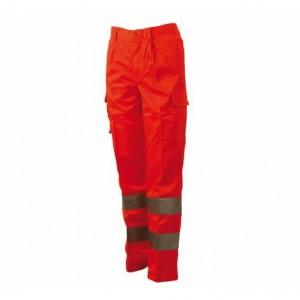 Pantalone Alta Visibilità Fustagno Blue Tech