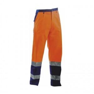 Pantalone Fustagno Arancio Blu